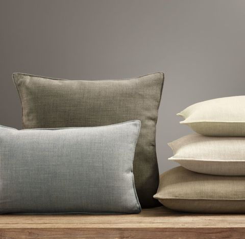 Custom Perennials® Classic Linen Weave Stitched Pillow Cover