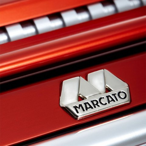 Машинка для пасты Marcato Atlas 150 красная, оригинал! Фото