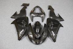 Комплект пластика для мотоцикла Kawasaki ZX-10R 06-07 Черный