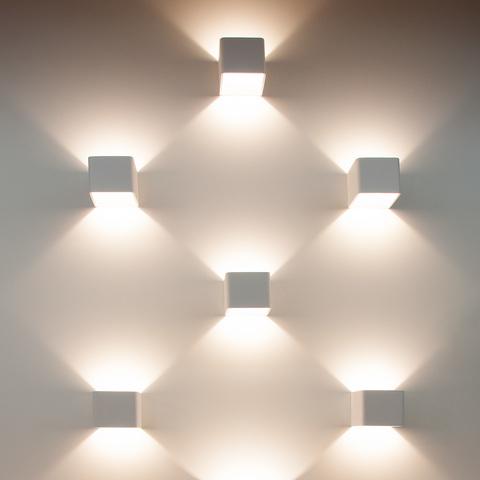 Corudo LED белый Настенный светодиодный светильник MRL LED 1060