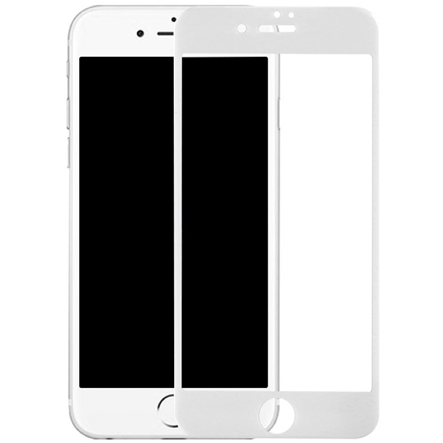 Защитное стекло iPhone 6S 3D White - 3 Storedevices.ru