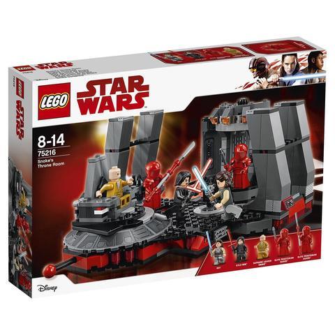LEGO Star Wars: Тронный зал Сноука 75216 — Snoke's Throne Room — Лего Звездные войны Стар Ворз