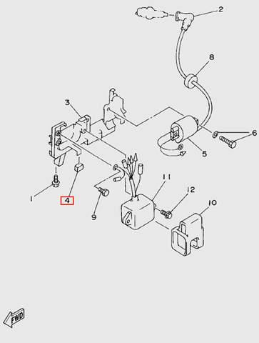 Амортизатор держателя для лодочного мотора  T5 Sea-PRO