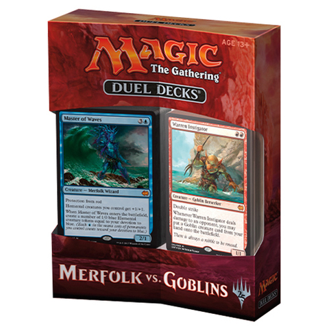 MTG: Duel Decks: Merfolk vs Goblins