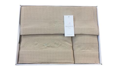 Набор полотенец  BRISE APE - БРИС АПЭ 3пр 40х60 60х110 и 110х160  Maison Dor (Турция)