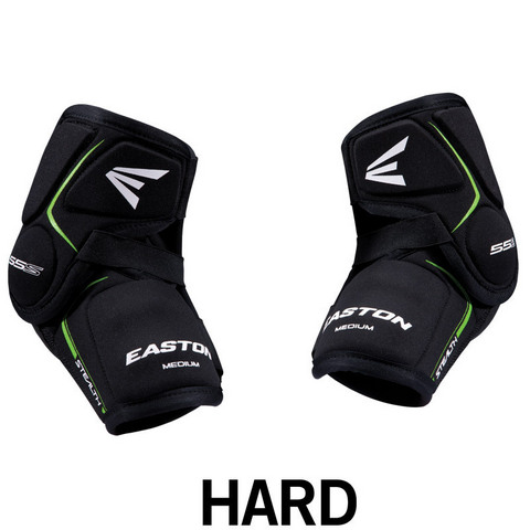 Налокотники хоккейные Easton Stealth 55S Hard SR Hockey Elbow Pads