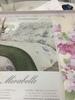 Постельное белье 2 спальное евро Mirabello Rododendri с розовыми цветами