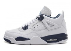 Nike-Air-Jordan-4-IV-Retro-White-Blue-Leather-Krossovki-Najk-Аir-Dzhordan-4-IV-Retro-Belye-Sinie-Kozhanye