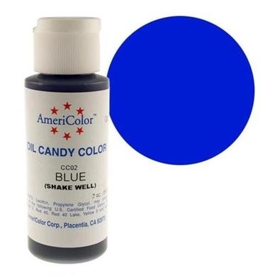 Краска для шоколада Americolor, Blue