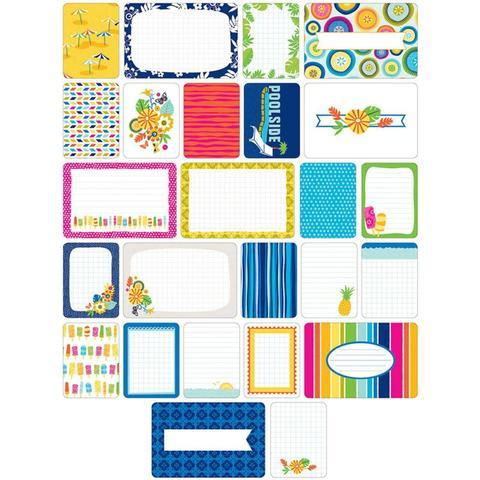 Набор карточек Project Life - Tropical 60 шт