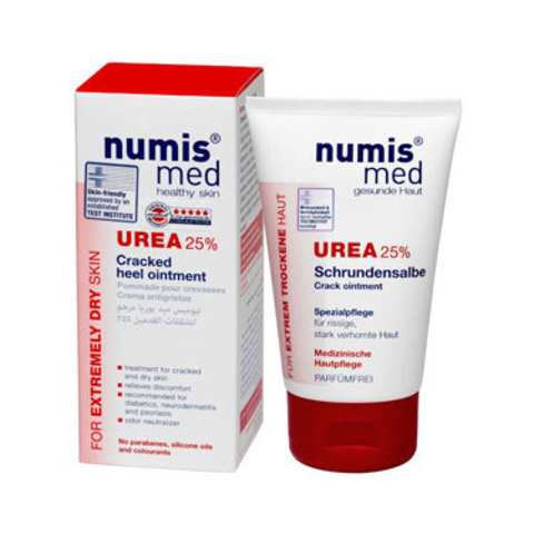 Крем для пяток с 25 % мочевиной Numis Med, 50 мл