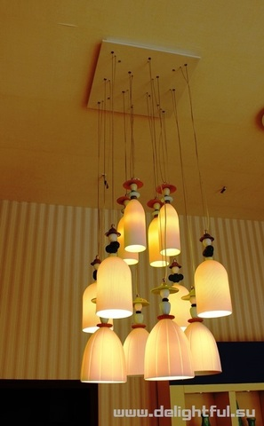 replica Llardo Madermoiselle 9 Lights Seaside Dreams Chandelier