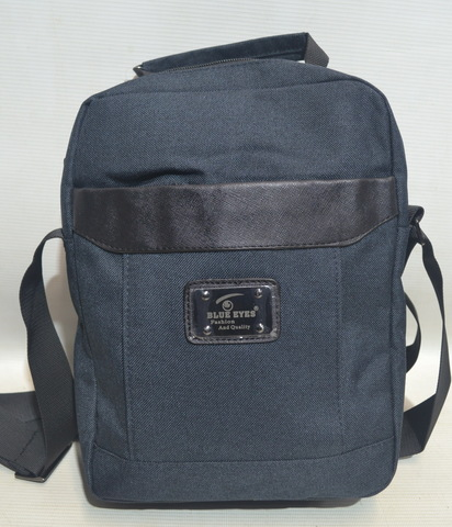 553e64b0d80e 4515- Мужская прочная сумка через плечо на каждый день Blue Eyes