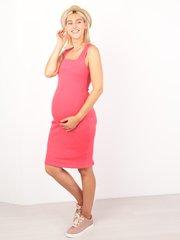 Евромама. Платье-майка для беременных и кормящих, коралл