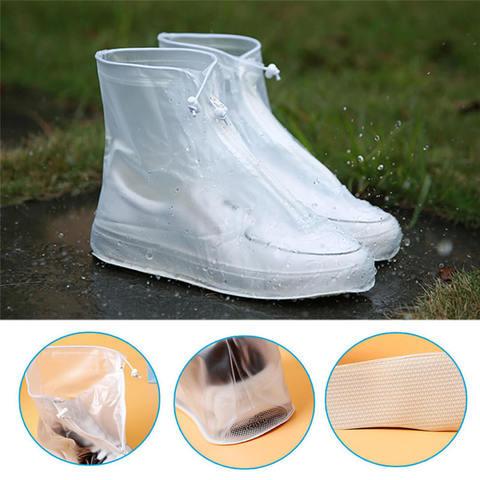 Дождевики для обуви белые
