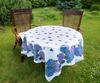 Скатерть 140x140 Blonder Home Florence синяя