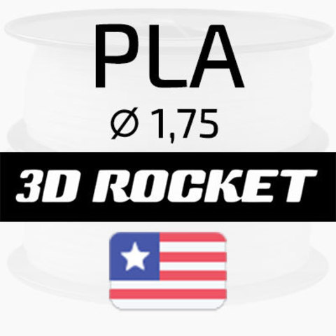 PLA 3D Rocket USA, 1.75 мм. 1 кг.