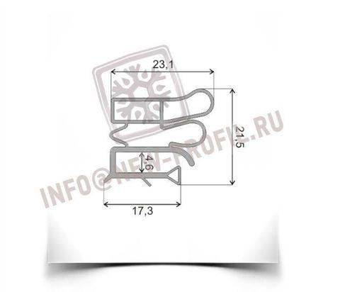 Уплотнитель 69*57 см для холодильника Vestfrost VB301 M1 (морозильная камера) Профиль 012