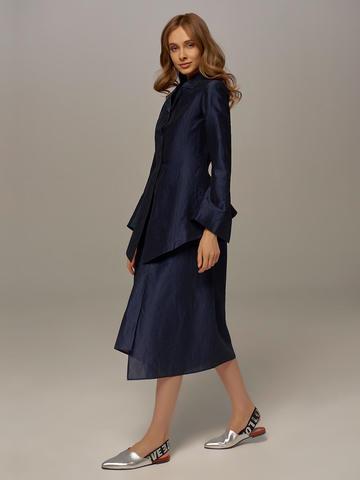Dark blue female skirt by Olmar GentryPortofino - фото 3