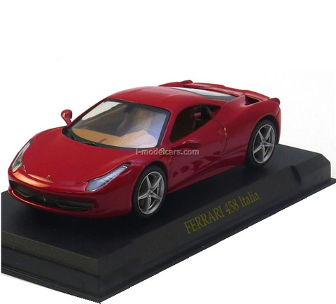 Ferrari 458 Italia red 1:43 Eaglemoss Ferrari Collection #3