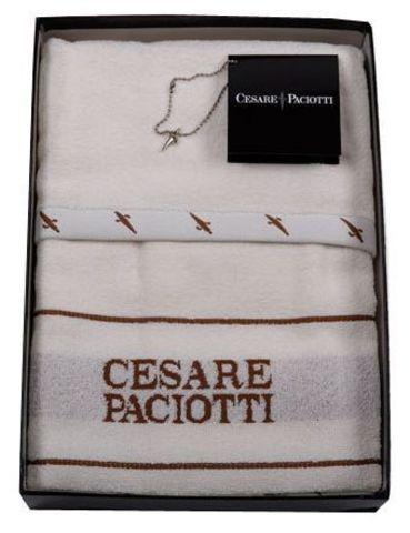 Набор полотенец 2 шт Cesare Paciotti Celebration кремовый
