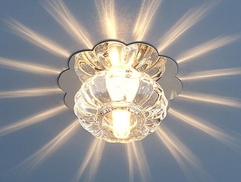 Точечный светильник 847 G4 CH/CL хром/прозрачный