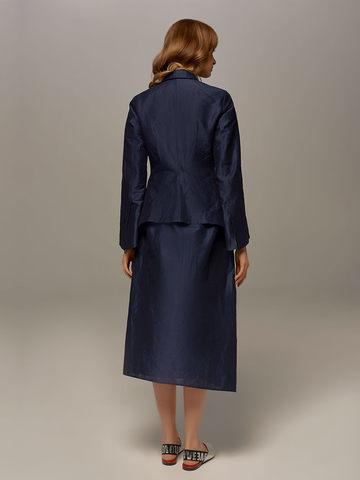 Dark blue female skirt by Olmar GentryPortofino - фото 5