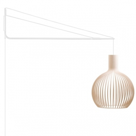 replica of Varsi 1000 wall lamp , white by Secto