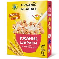 Компас здоровья завтрак сухой ржаные шарики 100г