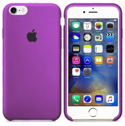 iPhone 7/8 Silicone Case  Purple