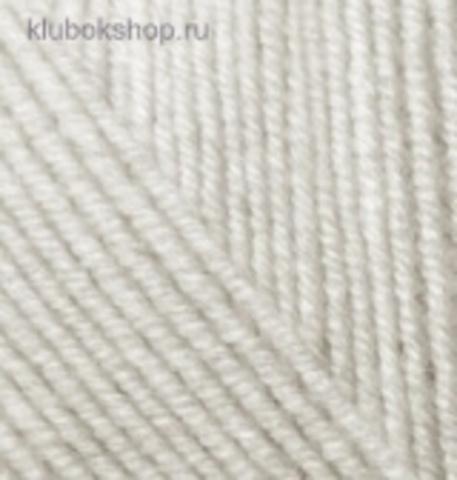 Пряжа Alize Superlana KLASIK 208 светло-серый меланж, фото
