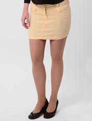 A2148-4 юбка желтая