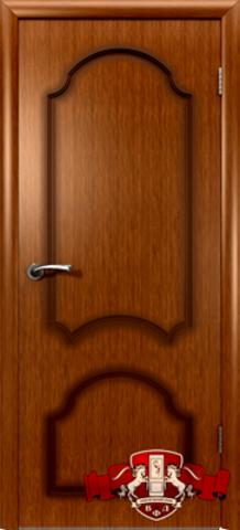 Дверь Владимирская фабрика дверей Кристалл 3ДГ3, цвет орех, глухая