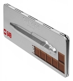 Carandache Office Essentialy Swiss Chocolate (M) чернила: синий в подарочной коробке (849.752)