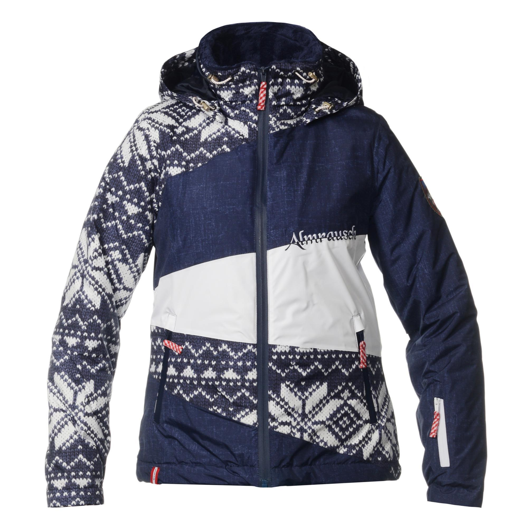 Женская горнолыжная куртка Almrausch Stams 320218-1818 синяя фото