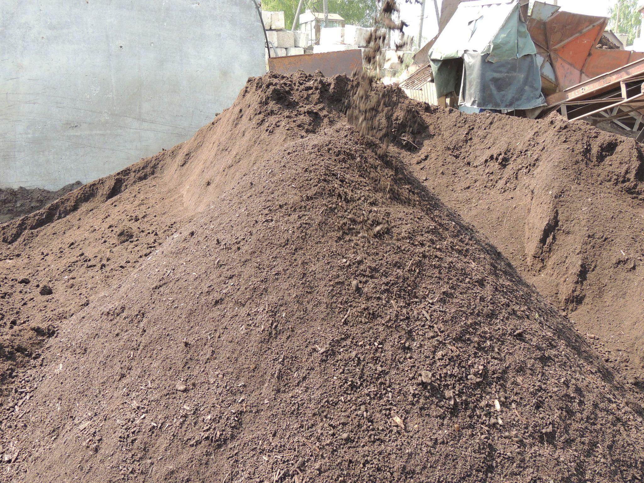Грунт плодородный ГАРАНТ крупносеяный с биогумусом (фр. 0-30 мм), м3