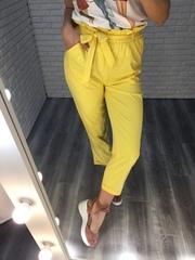 желтый летний костюм женский купить