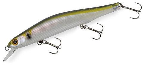 Воблер ZipBaits Orbit 110SR SP цв 018 G thread fin shad