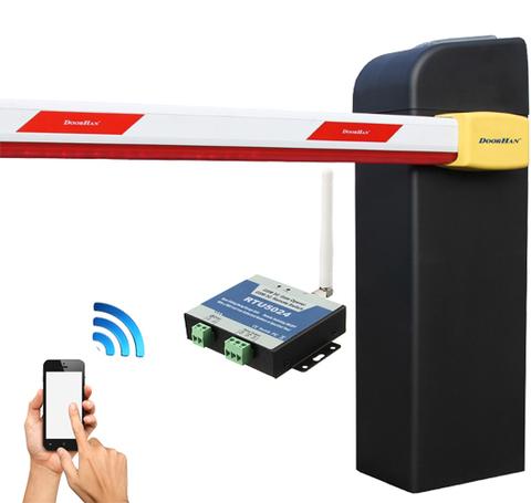 Шлагбаум  с GSM контроллером