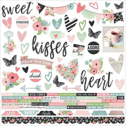Сикеры Romance Cardstock Stickers