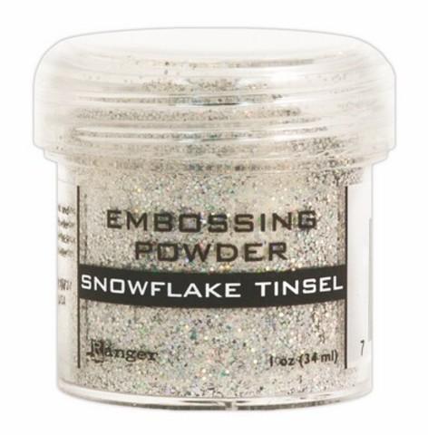 Пудра для эмбоссинга Ranger Ink- Snowflake tinsel