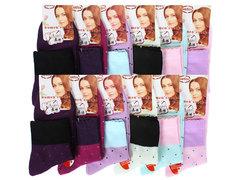 BC004 носки женские 36-41, (12шт) цветные