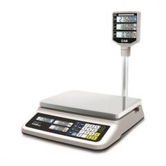 Весы торговые PR-15P LCD (до 15кг) со стойкой