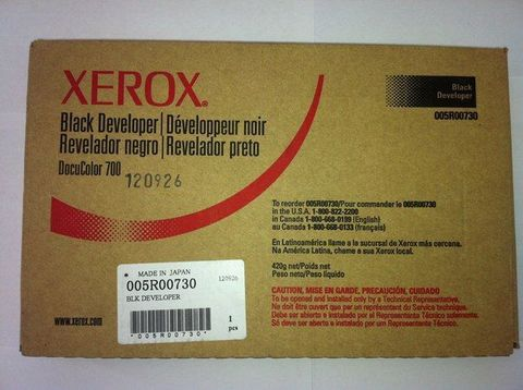 Девелопер (носитель) черный XEROX 700/C75 (1500K 5% покрытие А4) 005R00730