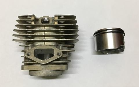 Цилиндро-поршневая группа для бензопилы объемом двигателя 62 см3