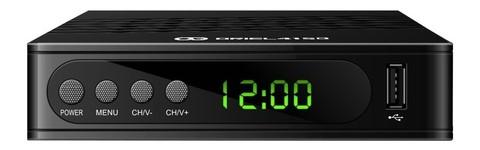 Цифровая приставка Oriel 415D эфирный ресивер DVB-T2 / С