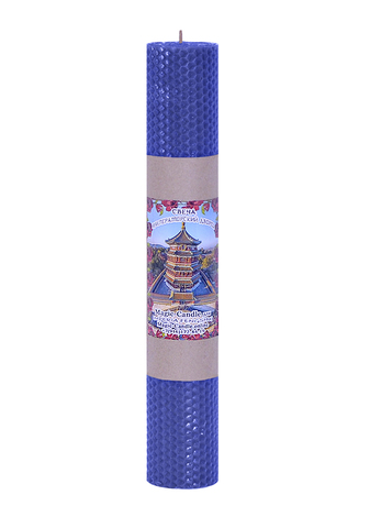 Свеча Императорский дворец синяя