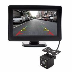 Автомобильный TFT LCD дисплей с камерой заднего вида