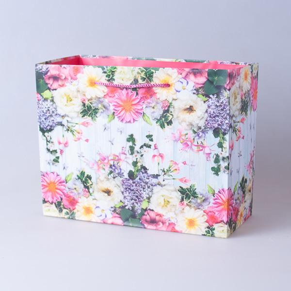 Пакет подарочный бумажный 22,5*18*10см, 640296-2