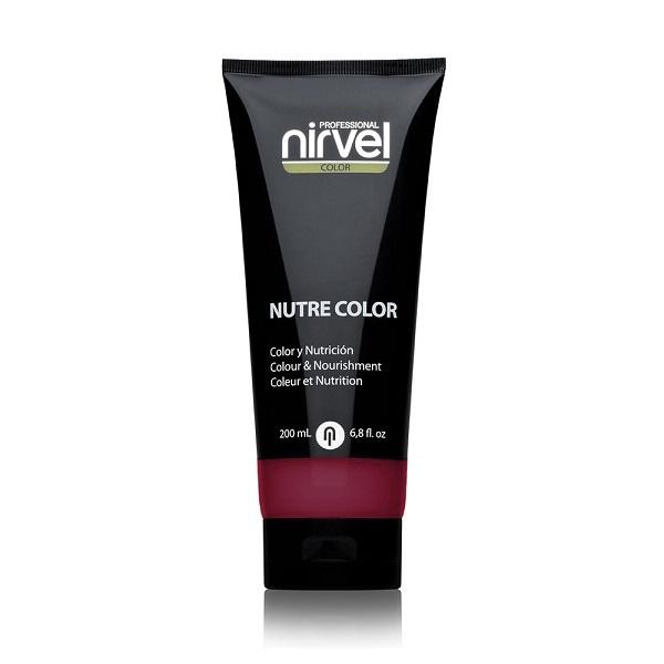 Гель-маска питательная Темно-баклажановая Nirvel Nutre Color Dark Aubergine 200мл